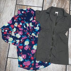 Two Girls Dresses Ages 6-7